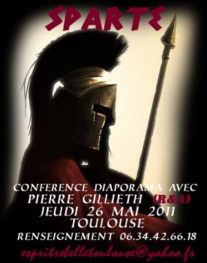 Toulouse, Spartes, conférence,Pierre Gillieth