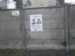 affiche,front de gauche, cimetière,